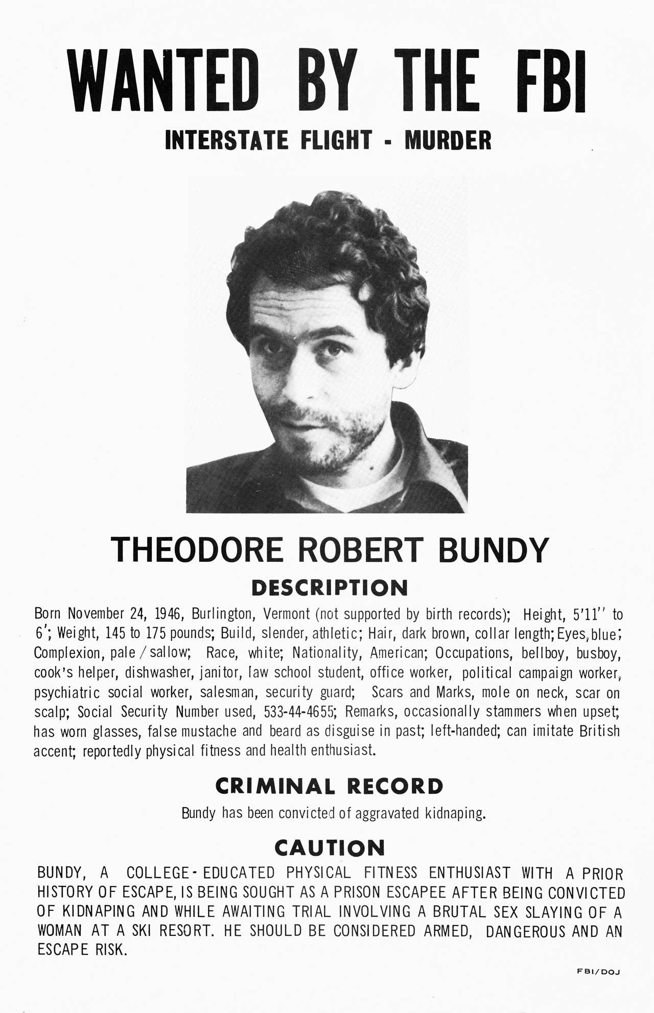 頭脳明晰で容姿端麗な凶悪殺人鬼…テッド・バンディ– 本当にあった閲覧注意