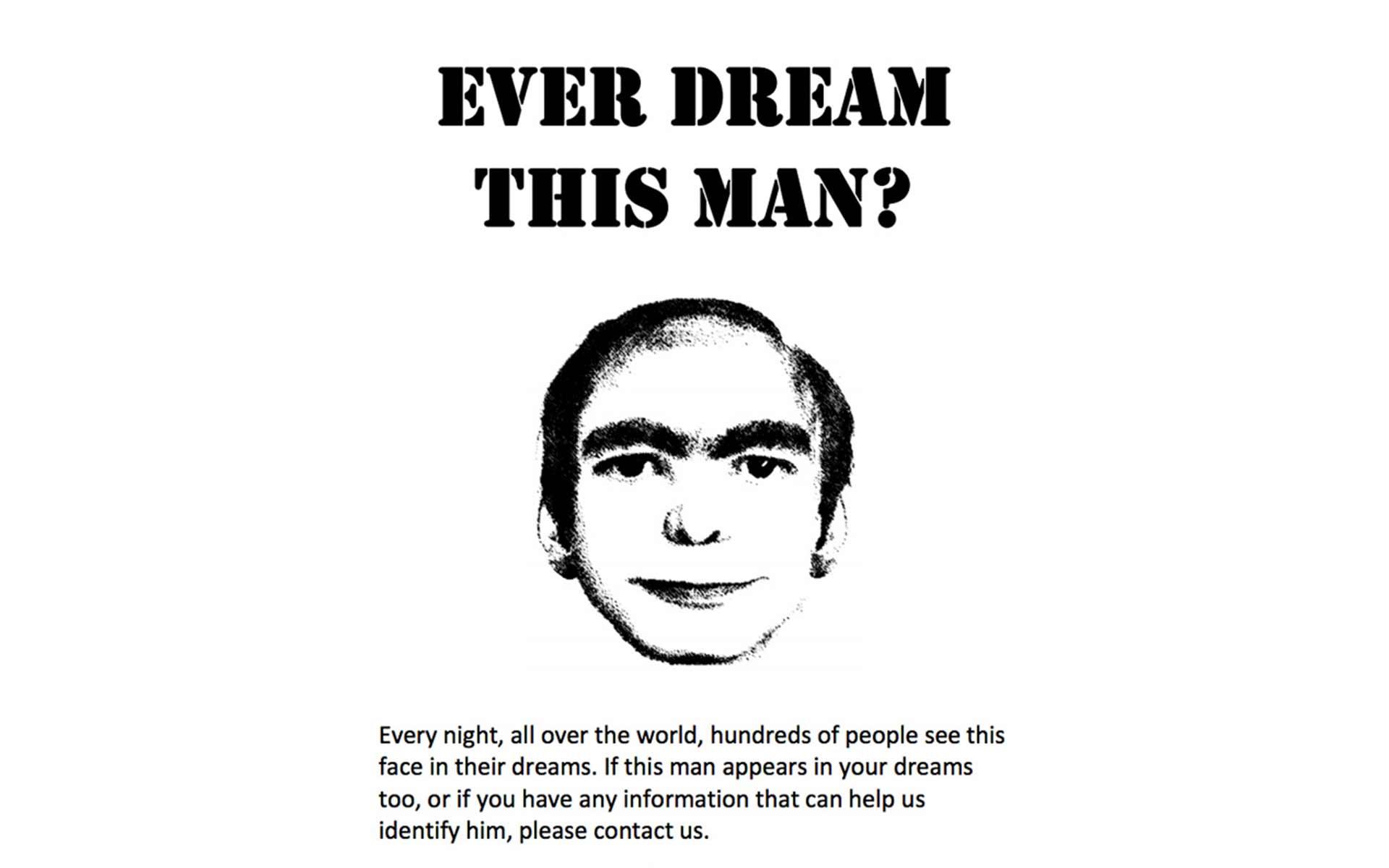 【シリーズ・都市伝説】夢の中に出てくる男「This Man」