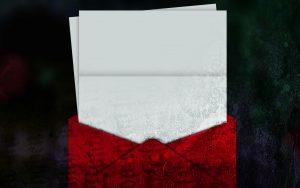 【シリーズ・都市伝説】拾ってはいけない「赤い封筒」